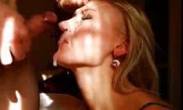 imagen Rubia recibe la corrida en su cara